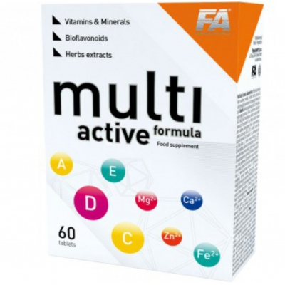 FA FITNESS AUTHORITY MULTI ACTIVE Formula Vitamin & Minerals 60 tabs
