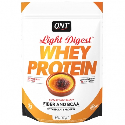 QNT Light Digest Whey Protein 500 g creme brulee